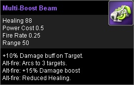 Multi Boost Beam