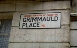 Grimmauld Place street sign