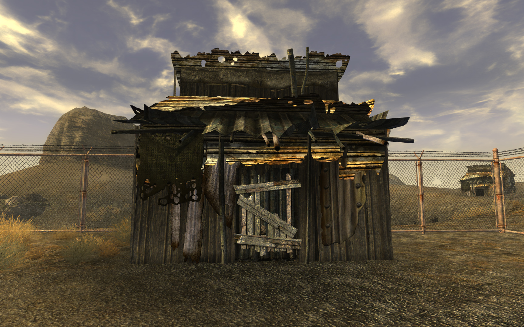Nuclear test shack
