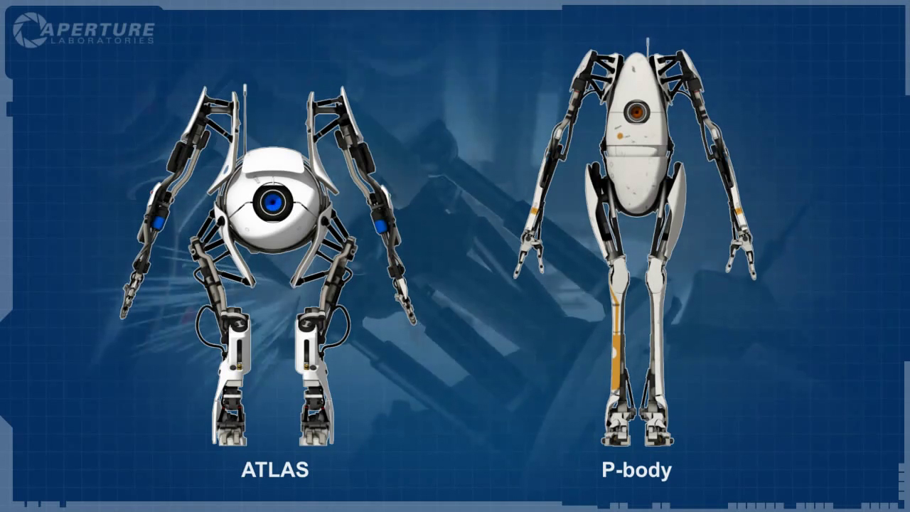 Portal 2 games pinterest robot wallpaper and hd wallpaper malvernweather Image collections