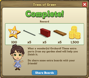 Trees of Green Complete