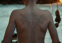 Film - Aang&#39;s tattoos