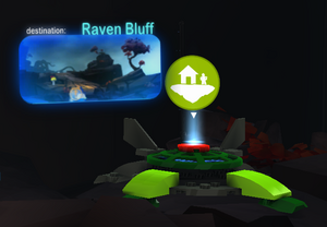 Raven Bluff Launchpad