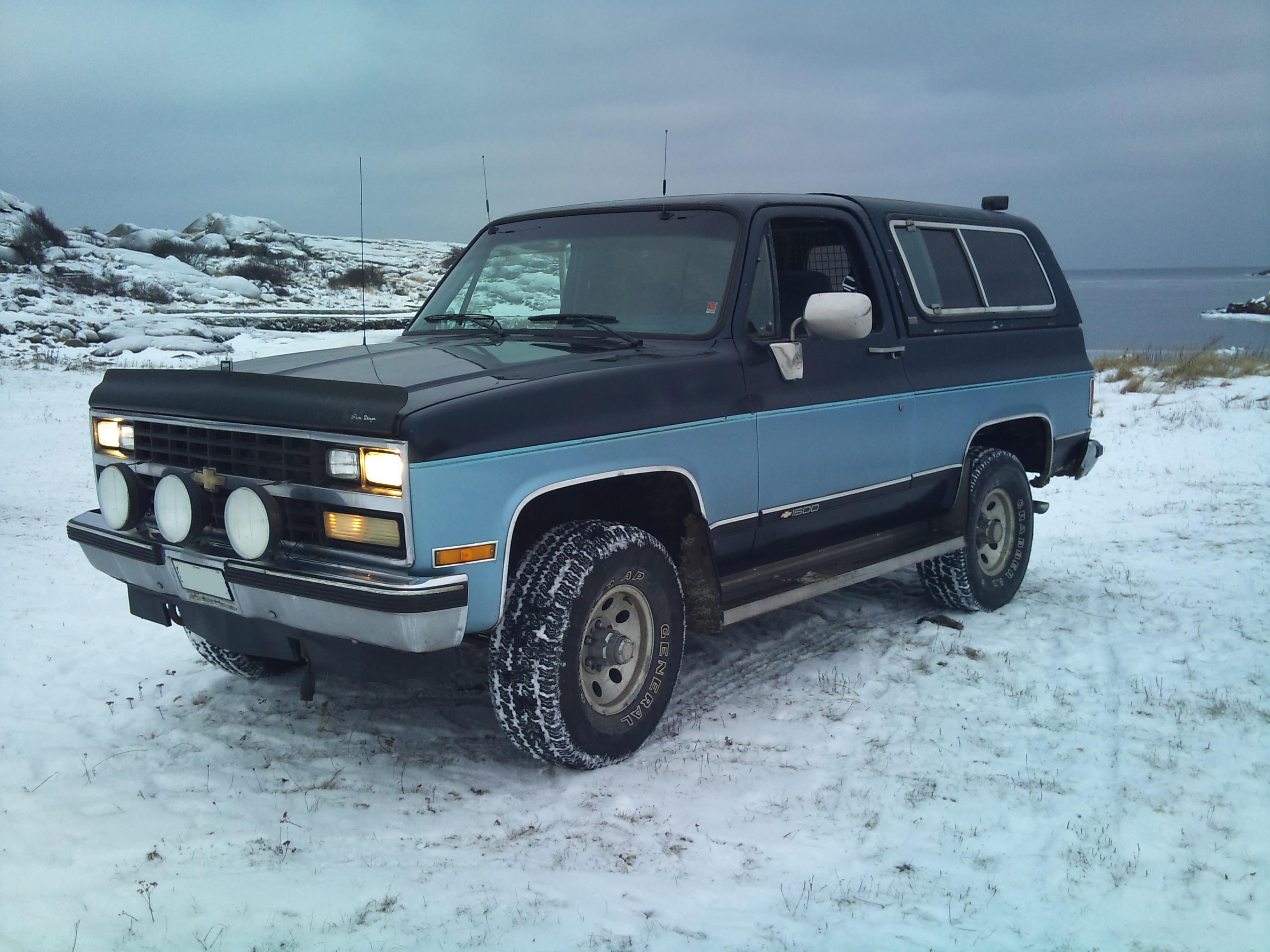 Chevy K5 Blazer