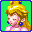 Peach Icon (Mario Kart Super Circuit)