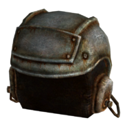 Metal helmet F