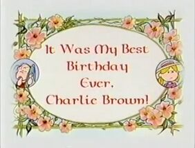 It was my best birthday ever charlie brown-show-1-