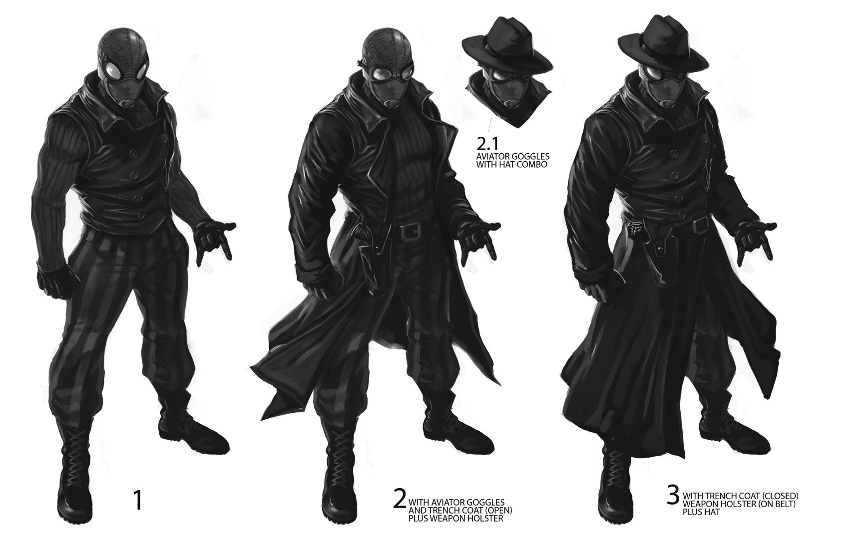 Imagen spider man noir concepto marvel wiki - Type of foundation concept ...