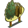 Downy Birch Tree Mastery Sign-icon