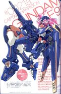 F91 Gundam F91 (Harrison Martin Colors) - MS Girl