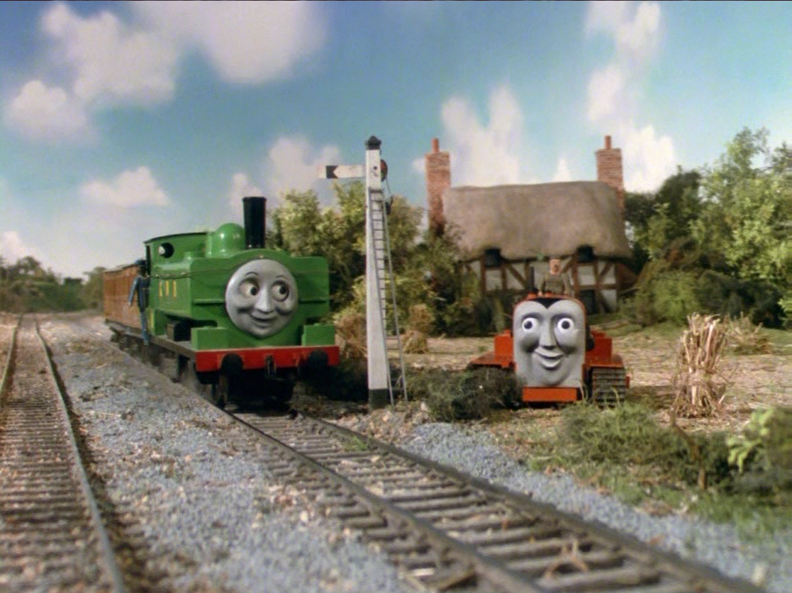 Duck and Oliver's Crazy Great Western Adventures: It's Thomas, but with a twist. TheRunaway7