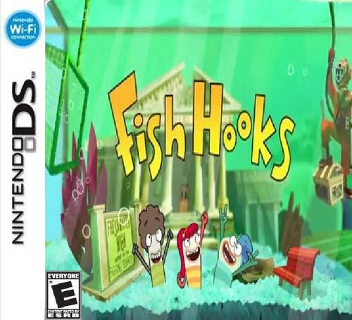 Fish hooks the video game video game fanon wiki for Fishing hook game