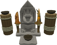 Big High War God shrine