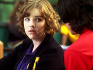 Eli Talking To Clare At Degrassi In Their Degrassi Uniforms With A Concerned Look On Clare&#39;s Face