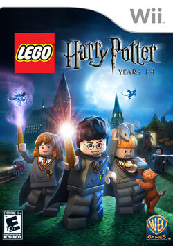 Lego Harry Potter Years 1-4 (Wii cover)