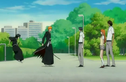 Ichigo&#39;s friends intervene