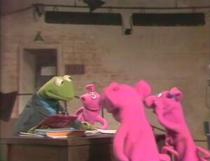 Kermit-casting
