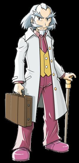 Pokémon Glory: ¡Descubre la nueva aventura! Profesor_Gobios_%28Ranger_3%29