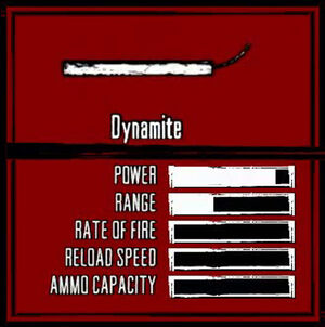 Rdr weapon dynamite