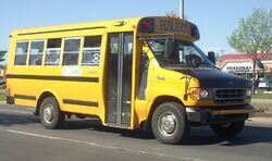 00-02 Ford E-350 School Bus