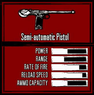 Rdr weapon semi-auto pistol