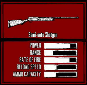Rdr weapon semi-auto shotgun