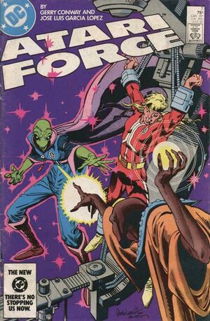 Cover for Atari Force #7