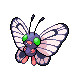 Butterfree HGSS F shiny