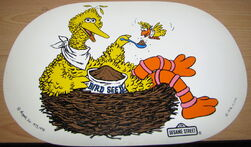 Placemat 1976 big bird