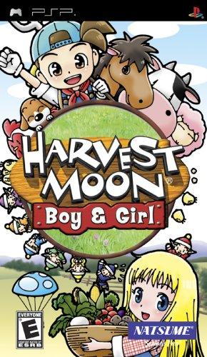 Harvest Moon Boy and Girl psp