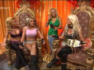 Angelina Velvet and Madison on there thrones