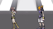 Neku and Shiki Parting