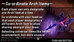 Co-ordinate arch items