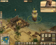 Anno 1404-campaign chapter4 miners delivering goods