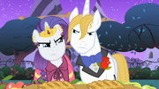 Tension between Blueblood and Rarity S1E26