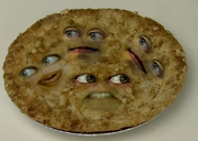 A apple pie