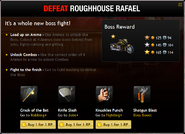 Defeat Roughhouse Rafael