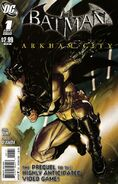 Batman Arkham City Vol 1 1
