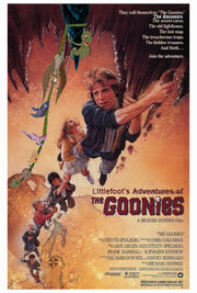 Littlefoot's Adventures of The Goonies Poster