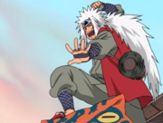 Jiraiya pose