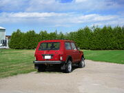 Red Lada Niva Cossack 1.7i in Schomberg, Ontario, Canada