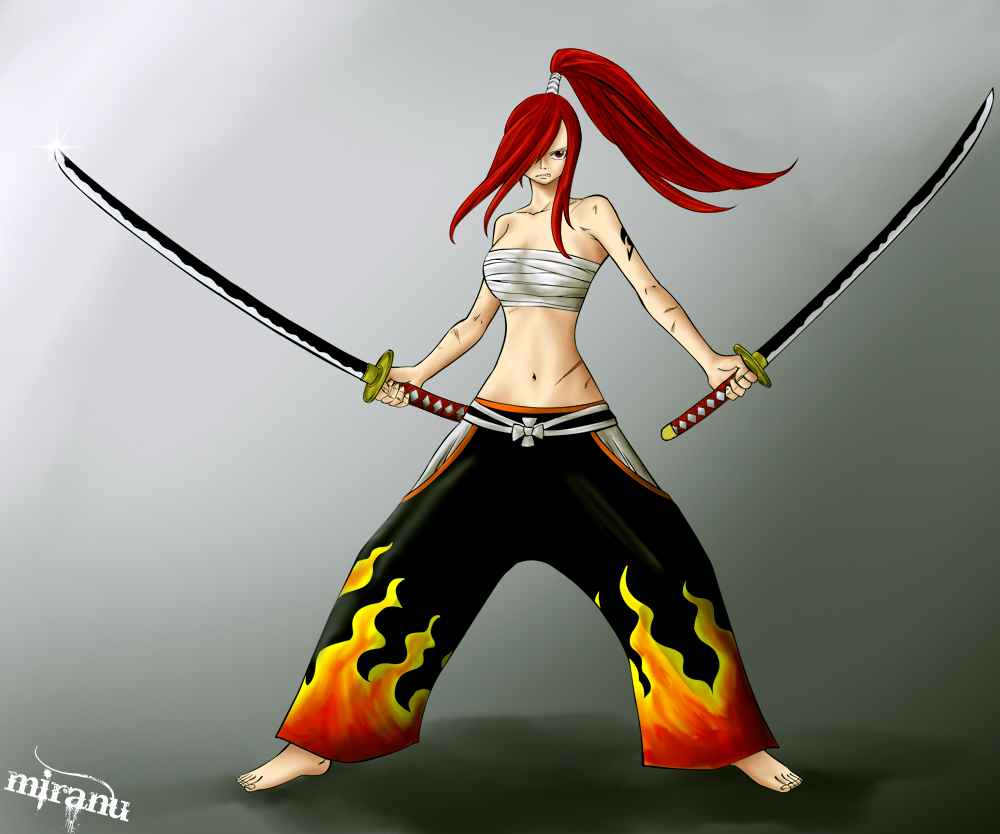 Fairy Tail Erza Scarlet Wallpaper Picture Wallbase Top