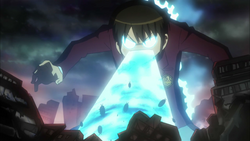 Keima spitting out cockroaches