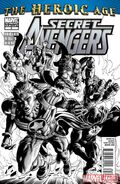 Secret Avengers Vol 1 2 Second Printing Variant