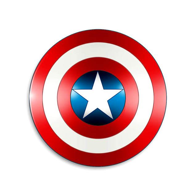 Captain America's Shield - Marvel Comics Database Captain America Logo Clip Art