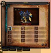 Spellbook &amp; Abilities-Mounts tab