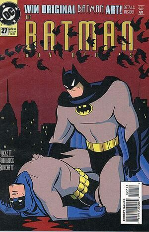 Cover for Batman Adventures #27