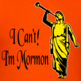 Orange-i-can-t-i-m-mormon-t-shirts design
