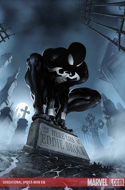 Black Spiderman Comic It doesn t have to be symbiote