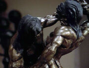 Kahless and Morath statue